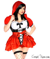 Red Riding Hood Costume 3 Piece Plus Size Red Riding Hood Costume