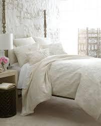 Bed Linen Decorating Ideas Callisto Home Destiny Bed Linens Horchow Tonal White Ivory