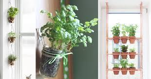 Indoor Herb Garden Ideas by 17 Hanging Herb Garden Ideas For Small Spaces Balcony Garden Web