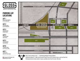 Atlanta Braves Parking Map by Sloss Fest 2015 Full Lineup Music Schedule Site Map Ticket
