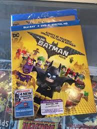 the lego batman movie new blu ray dvd digital hd 2017 w