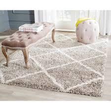 safavieh hudson amias geometric shag area rug or runner walmart com