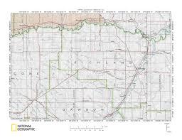 United States Map Missouri by Missouri River Yellowstone River Drainage Divide Area Landform