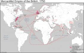 The Thirteen Colonies Map Mapping The Mercantilist World Economy Eric Ross Academic