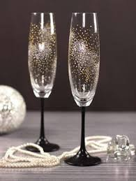 new years chagne flutes http www lovethispic image 150501 diy dotted chagne