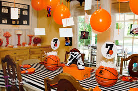 decorations enchanting basketball room decor for inspiring boy