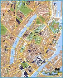 map of copenhagen copenhagen map tourist attractions http travelsfinders com