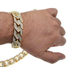 gold bracelet chains images 20mm gold chain bracelet cuban chains png