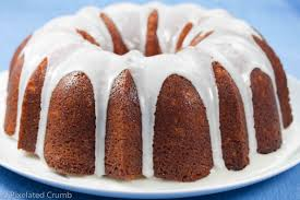 lemon bundt cake pixelated crumb