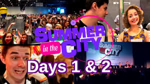 summer in the city 2016 days 1 2