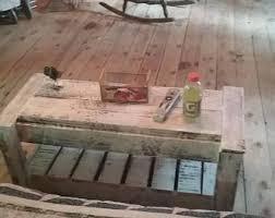 387 Best Rustic Or Primitive Rustic Coffee Table Etsy