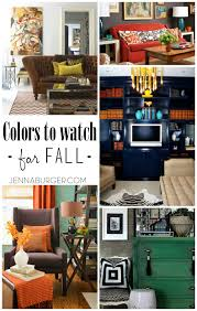 fall colors for your home decor burger