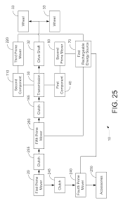 patent us20090095549 hybrid vehicle drive system and method and