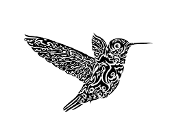 hummingbird tattoo design by beanbuscus on deviantart