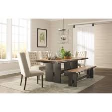 6 pc dining table set scott living 6pc dining room sets 107791 dining table dining chair