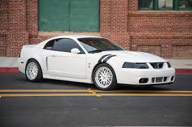 Black Mustang Cobra Understated Excellence Oxford White 2004 Terminator Mustang Cobra
