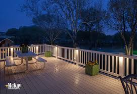 deck post lighting residential landscape lighting pinterest