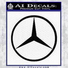 mercedes decal mercedes logo d1 decal sticker a1 decals