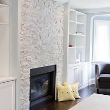 White Washed Stone Fireplace Life by Best 25 White Stone Fireplaces Ideas On Pinterest Stone