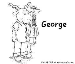 arthur print coloring pages pbs kids