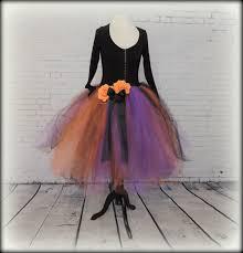 tutu spirit halloween tutu dress halloween costume witch costume purple orange