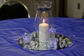 royal blue and silver wedding blue and silver wedding theme decorating of party
