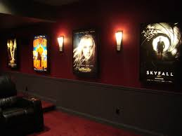 movie theater lightbox frame light cinema posters church game room