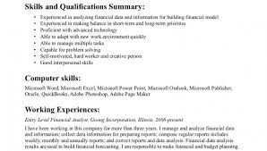 Entry Level Business Analyst Resume Objective Financial Analyst Resume Examples Resume Example And Free Resume