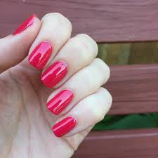 essie haute in the heat guava pink nail lacquer u0026 nail