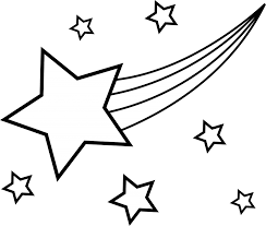shooting star coloring page fablesfromthefriends com