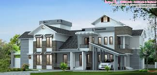 Luxury House Designs And Floor Plans - luxury house plans kerala homes zone