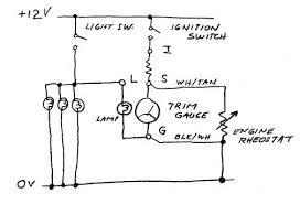 tilt and trim gauge wiring diagram wiring diagram simonand