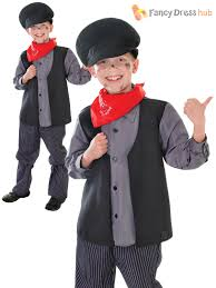 Halloween Costumes Boys Age 9 Victorian Poor Peasant Chimney Sweep Boys Fancy Dress Costume Age