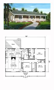 ranch style cool house plan id chp 47591 total living area