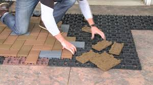 How To Cover Old Concrete by Concrete Resurfacing With Azek Resurfacing Pavers Installation