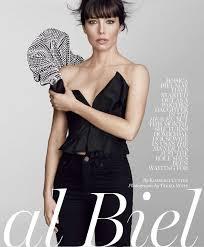 Jessica Pels Biel Marie Claire Magazine Us August 2017 Issue