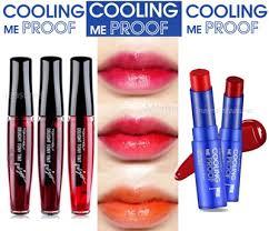 toni moli qoo10 waterproof tony moly cool lip tint tonlymoly liptint
