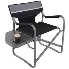 Folding Directors Chair With Side Table Directors Chairs With Table Ebay