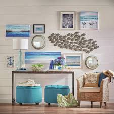 interior design creative beach theme wall decor home design