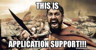 Application Meme - this is application support kancelarija bez bodiroge make a