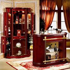 Wine Bar Cabinet Furniture Wooden Home Furniture Glass Wine Mini Bar Cabinet 816 A Buy