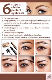 How To Color In Eyebrows How To Shape Your Eyebrows Pdf U2013 World Novelties Makeup 2017
