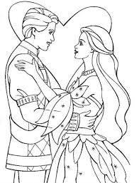 princess and prince coloring pages princess with prince coloring