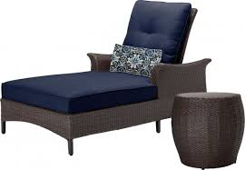 Chaise Lounge Chair Patio Gramercy Outdoor Chaise Lounge Chair And Table Set