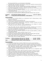 sample resume for construction site supervisor resume ideas