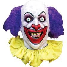 scary mask scary clown mask walmart