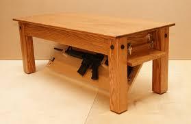 coffee table coffee table gun safe in top beautiful coffee table