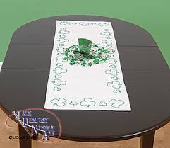 st patrick s day table runner table runners scarves