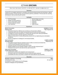 sample resume for cpa resume click here to download this