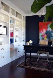 Blue Bookcases Office Furniture Blue Office Walls Pictures Navy Blue Office